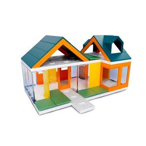 Arckit Mini Dormer Colours 2.0 Architectural Model Building Kit [80+ Pieces]