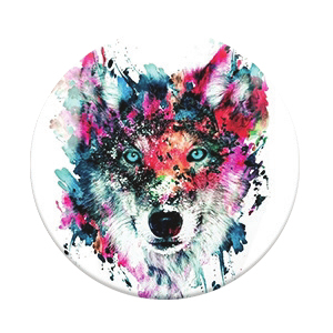 PopSockets Wolf Stand & Grip for Smartphones