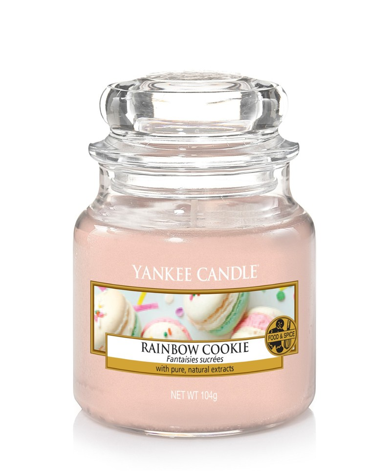 Yankee Candle Classic Jar Rainbow Cookie Small Candles Candles