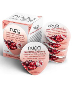 Nugg Beauty Exfoliating Face Mask 10ml [5 Pack]