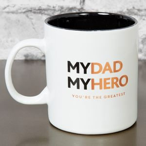 Harvey Makin Hero Stoneware My Dad My Hero Mug