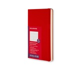 Moleskine 18 Month 2015-2016 Weekly Planner Red Hard Large
