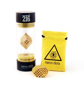 Nanodots 216 Gold Nano Magnetic Dots
