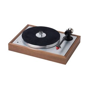 Pro-Ject Classic SB Superpack Turntable With 9-Inch Carbon/Alu Sandwich Tonearm Walnut/quintet Red
