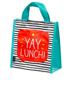 Happy Jackson Yay Lunch Teal Handy Tote