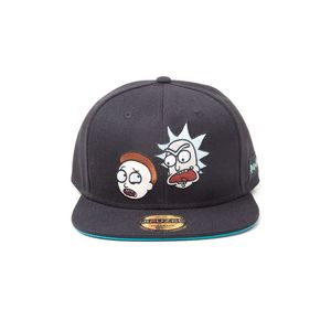 Difuzed Rick And Morty Characters Black Snapback Cap