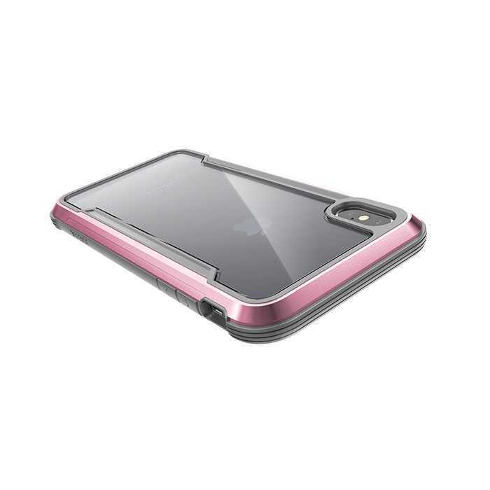 buy popular 11d51 5e070 X-Doria Defense Shield Case Rose Gold for iPhone XS Max