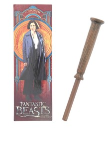 Noble Collection Fantastic Beasts Porpentina Goldstein Wand Pen & Bookmark