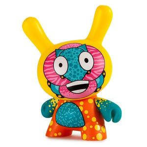 Kidrobot Codename Unknown Dunny Art Figure By Sekure D 5 Inch