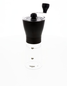 Hario Ceramic Mini Mill Slim Coffee & Tea Grinder Black