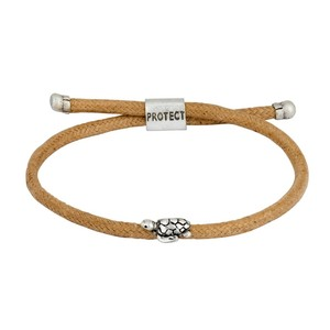 BOLD TURTLE ENDANGERED ECO BROWN BRACELET