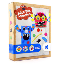 Keycraft Make Your Own Juice Box Monsters