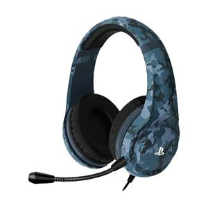 4 Gamers Pro4-70 Stereo Gaming Headset Midnight Camo Edition for PS4