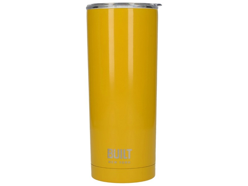 97bf30f8040 Built Double Walled Stainless Steel Water Tumbler Yellow 590ml | Mugs &  Tumblers | Drinkware | Cooking & Dining | House | Virgin Megastore