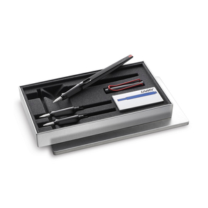 Lamy Joy Fountain Pen Set Black/Red