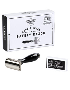 Gentlemen's Hardware Razor Double Edged with 5 Blades