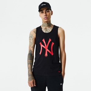 New Era MLB Seasonal Team Logo NY Yankees Men's Tank Black