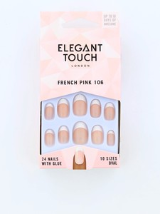 Elegant Touch Natural Frenchnails 106 Medium Pink