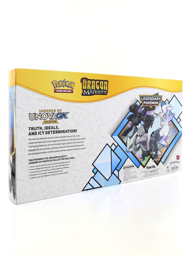 POKEMON TCG DRAGON MAJESTY LEGENDS OF UNOVA GX PREMIUM COLLECTION