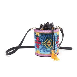 Difuzed Disney Aladdin Magic Carpet Glitter Drawstring Bucket Bag
