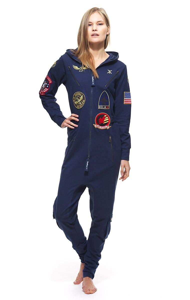 onepiece aviator unisex jumpsuit navy overalls men fashion virgin megastore. Black Bedroom Furniture Sets. Home Design Ideas