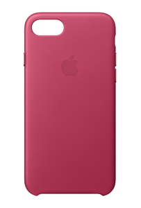 Apple Leather Case Pink Fuchsia for iPhone 8/7
