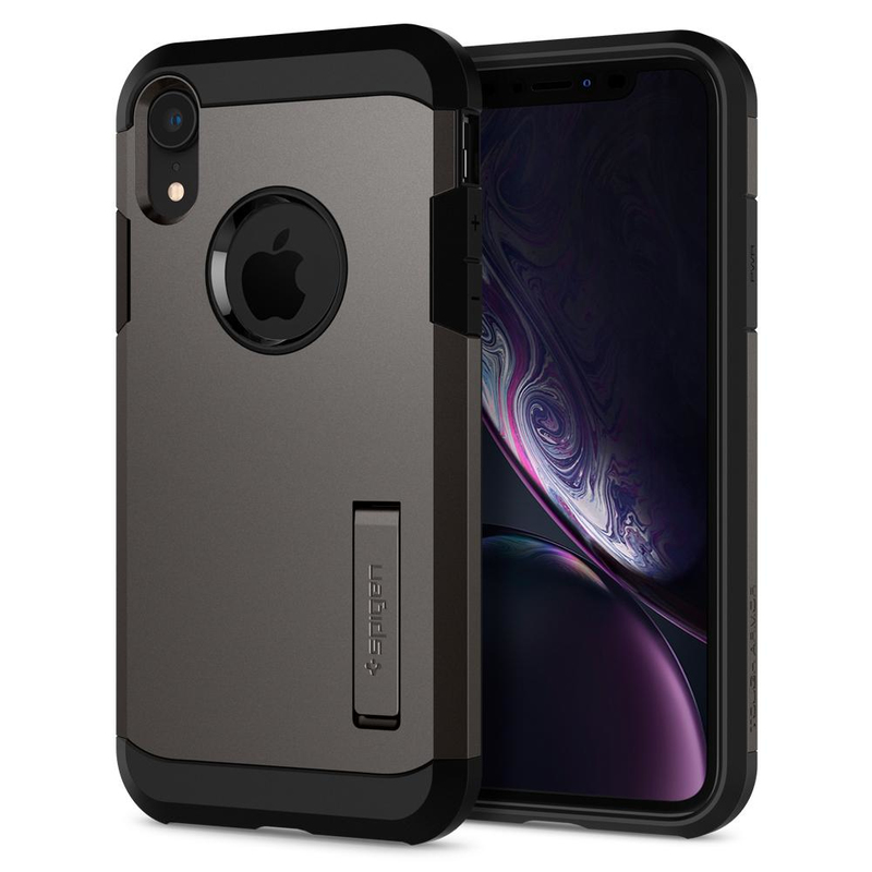 sports shoes 77903 131ec Spigen Tough Armor Genmetal Case for iPhone XR
