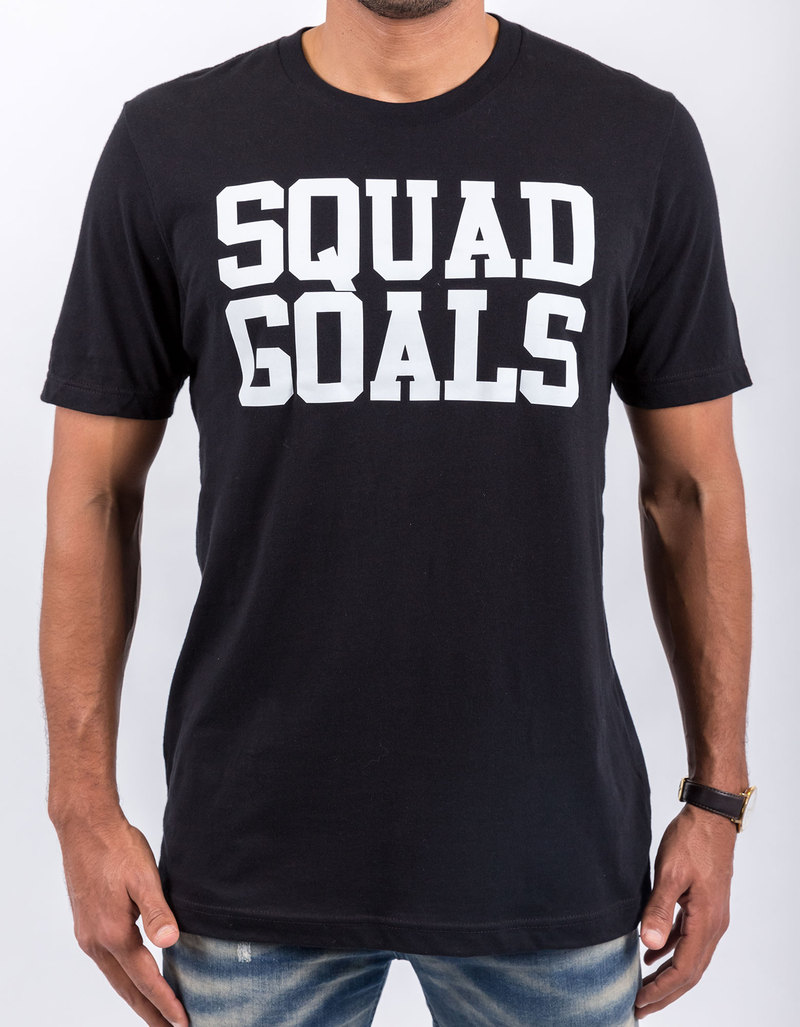 SaveThePeople Squad Goals Black T-Shirt | Tops | Fashion - Men ...