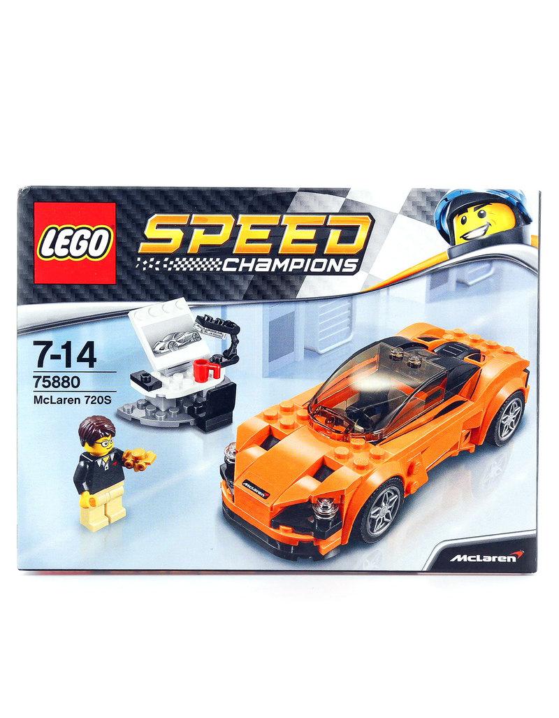Lego Speed Champions Mclaren 720s 75880 Building Blocks