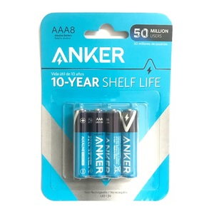 Anker AAA Alkaline Batteries [Pack of 8]