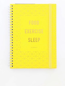 Kikki.K Food Exercise Sleep Journal Inspiration