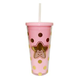 Blueprint Pusheen Sweet & Simple Beaker with Straw