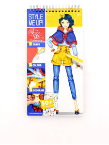 Style Me Up Snow White Collection Sketchbook English