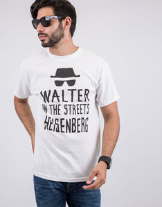Breaking Bad Walter Streets Heisenberg Sheets White T-Shirt