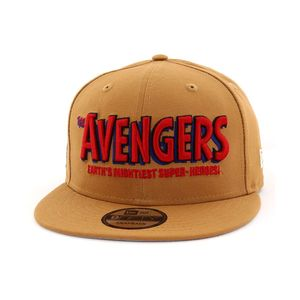 New Era Marvel The Avengers 80th Men's Cap Light Bronze