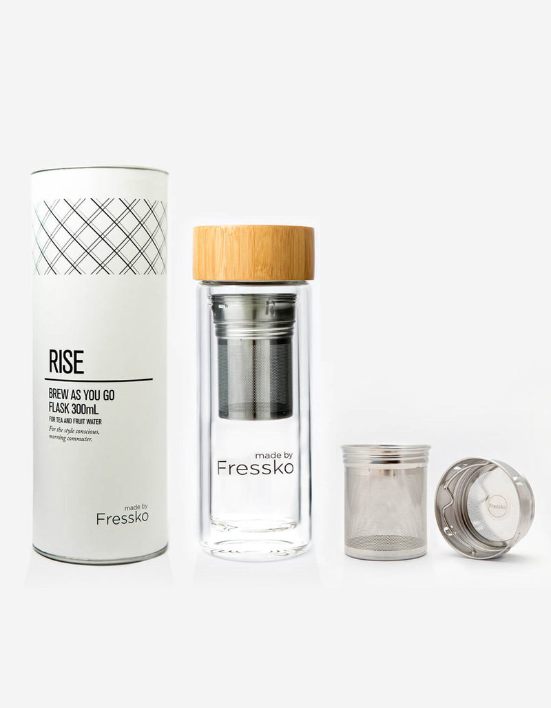 Made By Fressko Rise Brew As You Go Flask 300ml