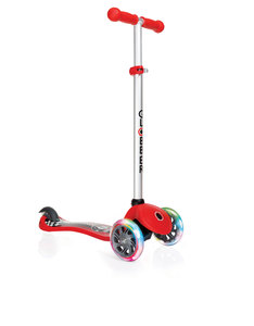 Globber Primo Fantasy Lights Racing Red Scooter