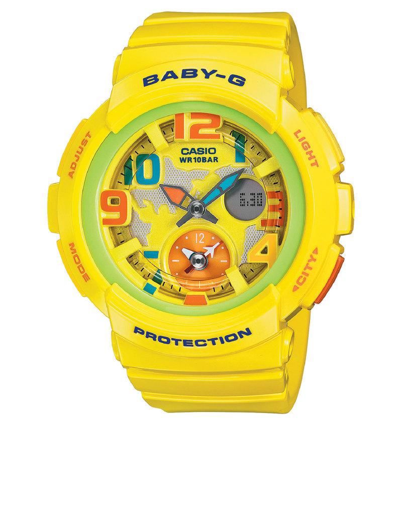 Casio Virgin Megastore G Shock Ga 1000 9bdr Gravity Master Twin Sensor Bga 190 9b Baby Analog Digital Watch