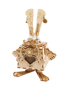 Robotime DIY Steampunk Music Box Bunny
