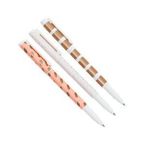 kikki.K Everyday Gel Pens 3Pk Luxury Multi-Color
