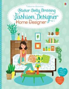 Sticker Dolly Dressing Fahion Home Designer