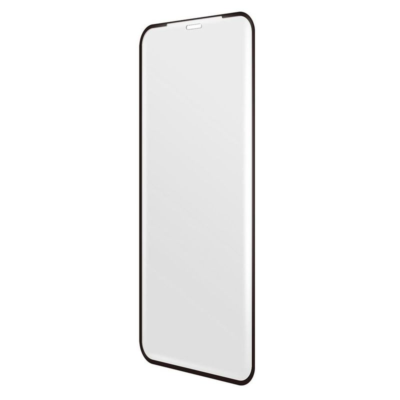 new arrival 8fe85 e4824 BodyGuardz Pure 2 Edge Glass Screen Protector Black for iPhone XS Max