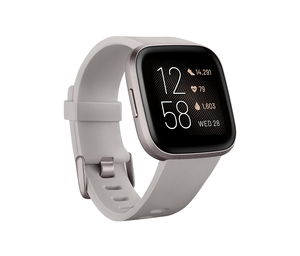 Fitbit Versa 2 NFC Stone/Mist Grey Aluminum Smart Watch
