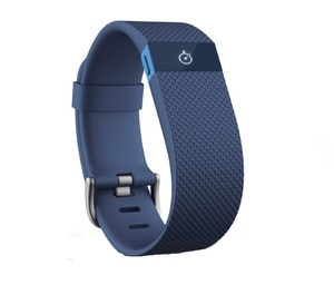 Fitbit Charge Hr Blue Large Activity Tracker