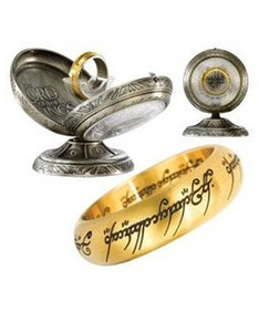 Lord Of The Rings One Ring Gold Replica Size 6