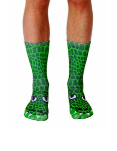 Living Royal Crocodile Unisex Crew Socks