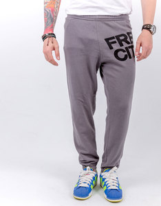 Freecity Large Featherweight Grey Art Sweatpants
