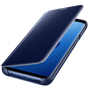 Samsung S9 Clear View Standing Cover Blue