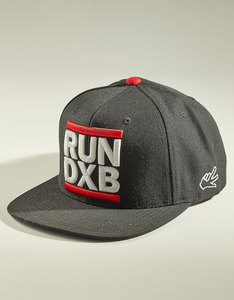 World Peace Design Run DXB Black Under Brim Cap