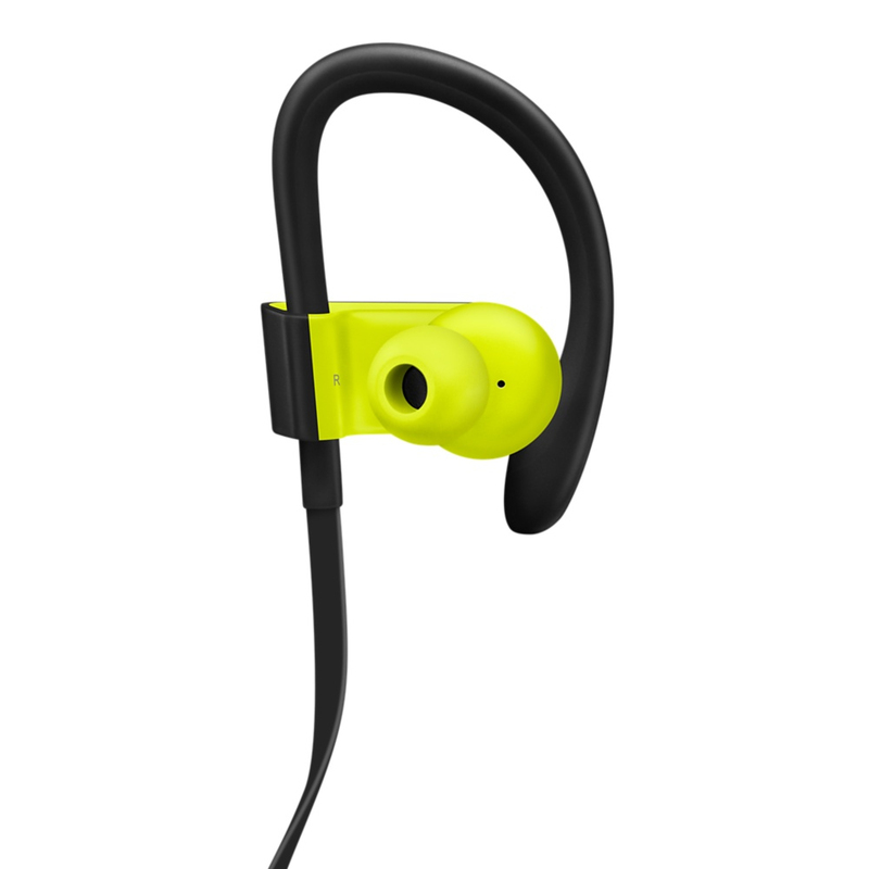 beats powerbeats3 shock yellow wireless earphones in ear headphones headphones headphones. Black Bedroom Furniture Sets. Home Design Ideas